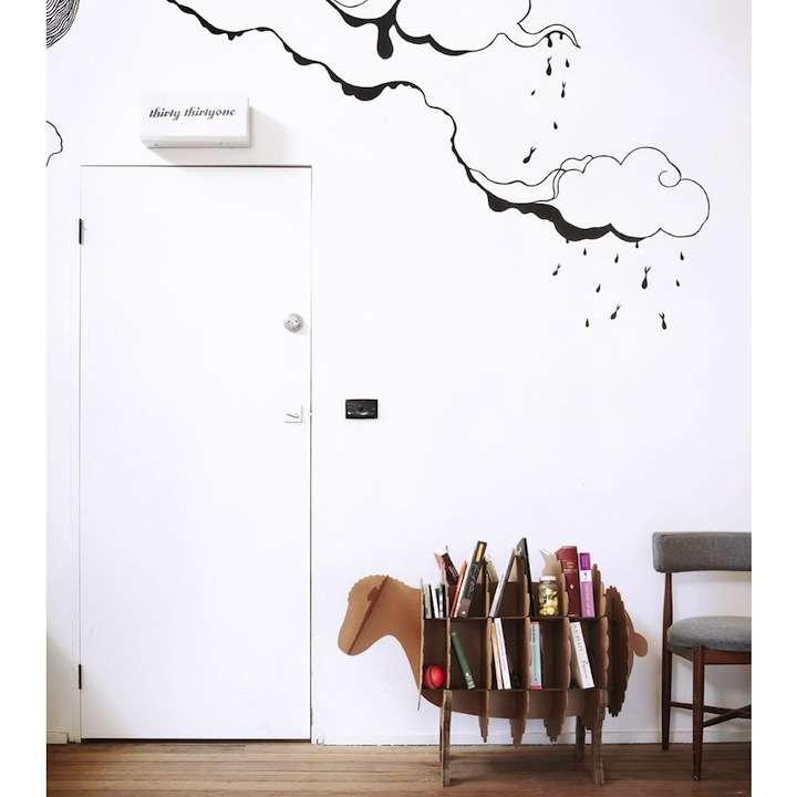 karton05 - Decoración Eco Chic: Muebles hechos de cartón