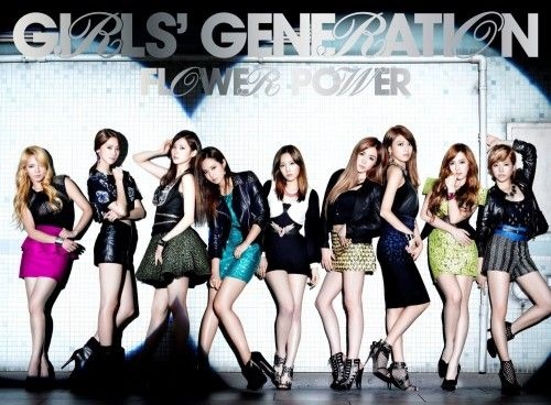 [Single] Girls' Generation (SNSD) - Flower Power [Japanese]