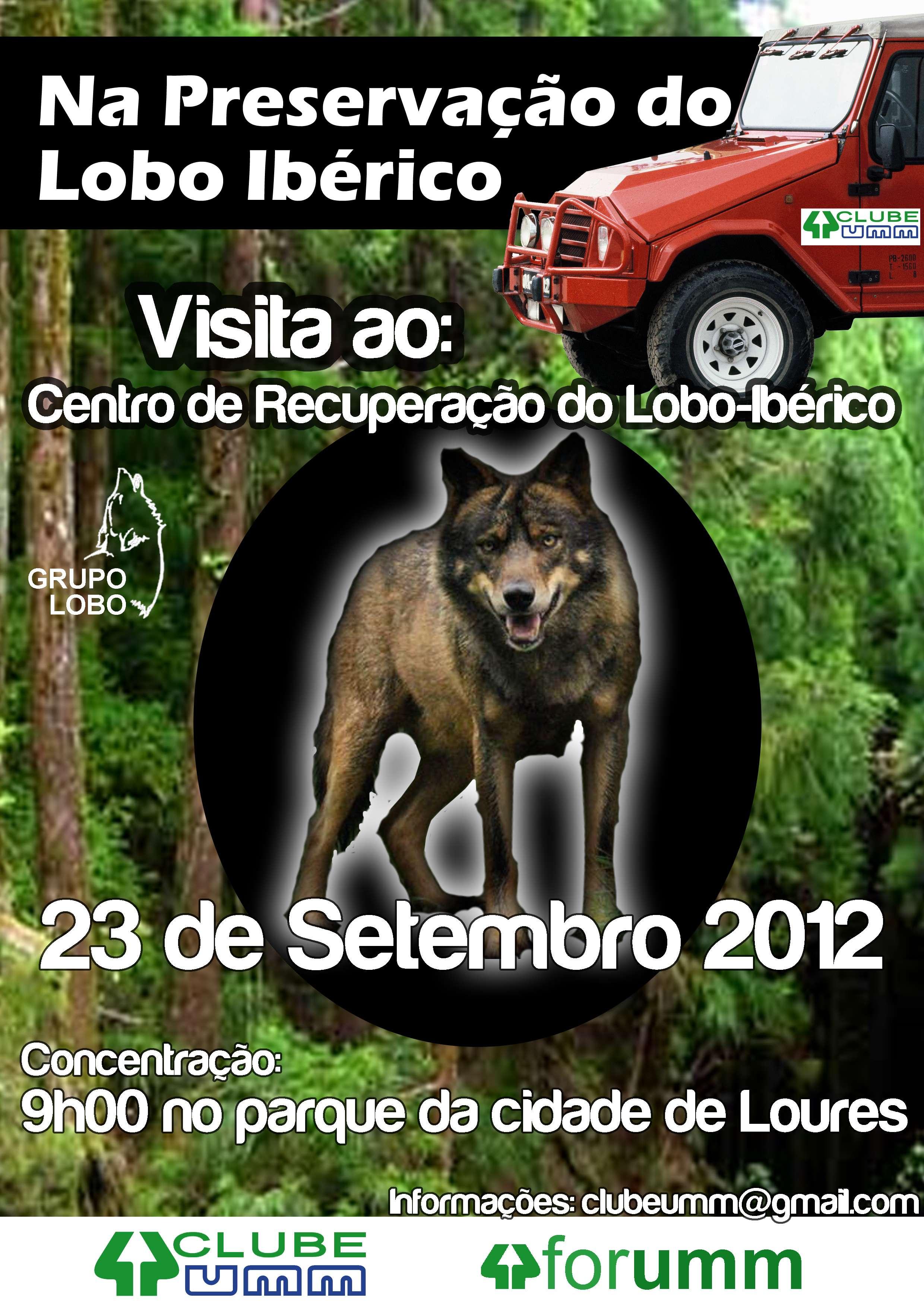 Preservação Do Património Natural: Na Preservação Do Lobo Ibérico